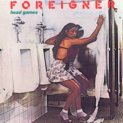 FOREIGNER - HEAD GAME (1979) CD (1995) f