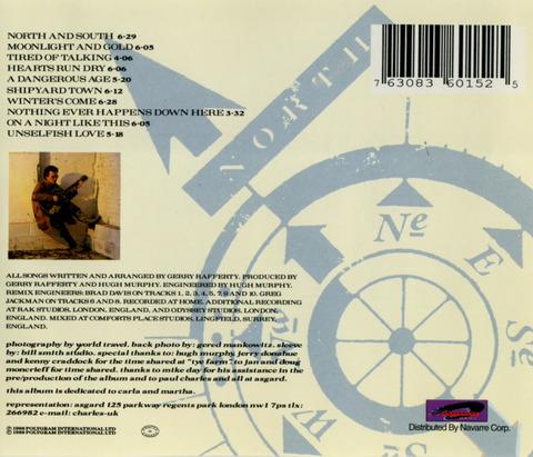 Gerry Rafferty - North & South (1988) B