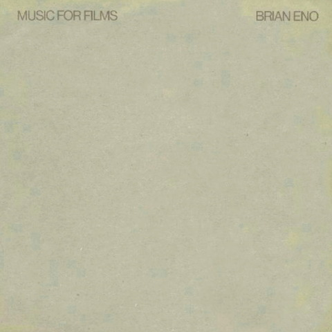 BRIAN ENO - MUSIC FOR FILMS (1976) F