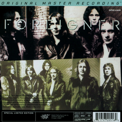 FOREIGNER - DOUBLE VISION (1978) Remaster CD (2011) b