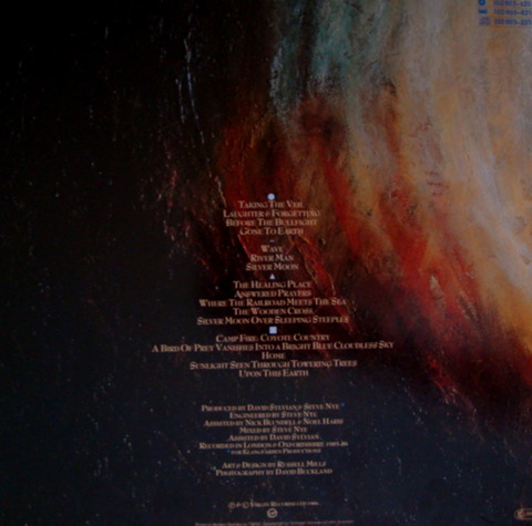 david sylvian - gone to earth b