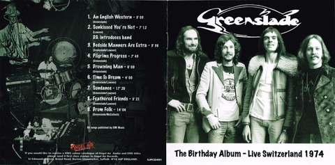 Greenslade-The Birthday Album-Live Switzerland 1974 (2016)f