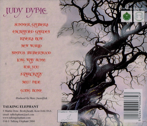 Judy Dyble - Enchanted Garden (2004) CD b