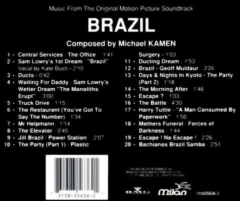 MICHAEL KAMEN - Brazil (1993) b