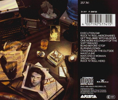 meatloaf - BLIND BEFORE I STOP (1986) B