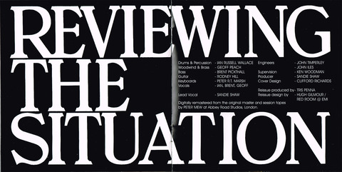 SANDIE SHAW - REVIEWING THE SITUATION (1969) inner