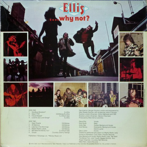 Ellis - why not  (1973) b