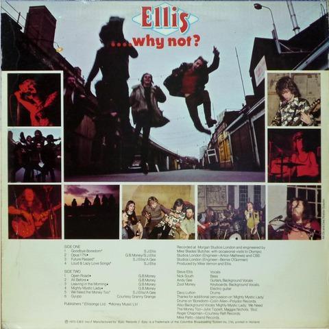 Ellis - why not  (1973) b