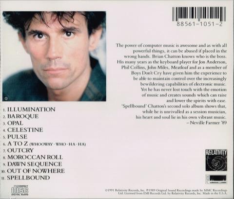BRIAN CHATTON - Spellbound (1989) b