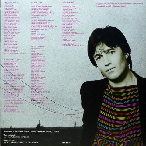 ALEKSANDER MEZEK - LJUBAV PREKO ZICE (1983) I01