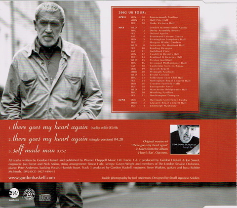 GORDON HASKELL - There goes my heart again (2002) b