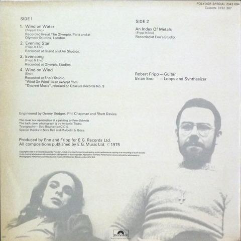 Fripp & Eno - Evening Star (1975) b