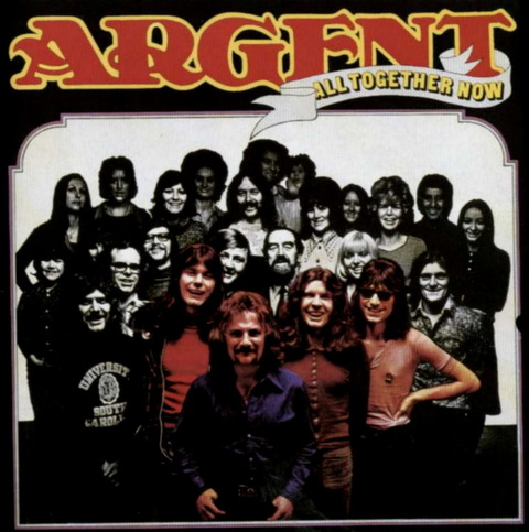 Argent - All Together Now (1972), reissue CD (1997) f