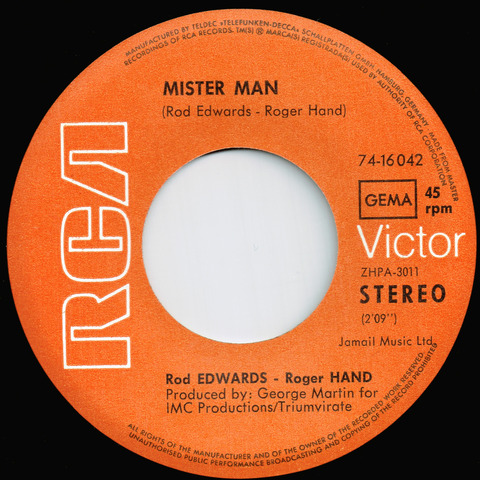 Edwards Hand - Death of man B