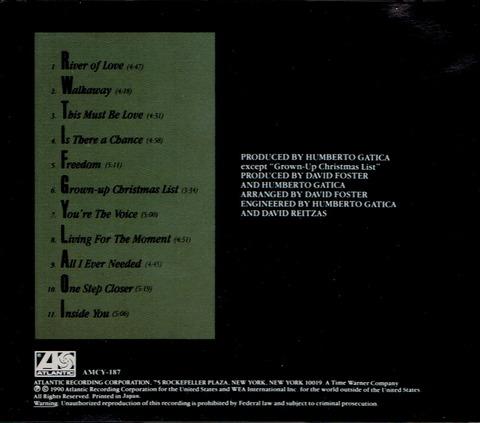 DAVID FOSTER - RIVER OF LOVE (1990) B