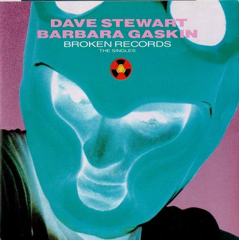 DAVE STEWART BAEBARA GASKIN - BROKEN RECORDS THE SINGLES (1987)