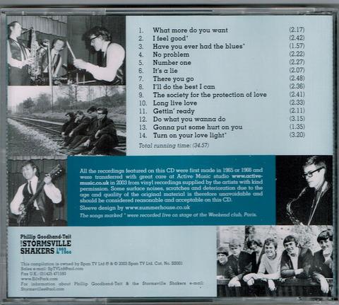 Phillip Goodhand-Tait & THE STORMSVILLE SHAKERS 1965 & 1966 b