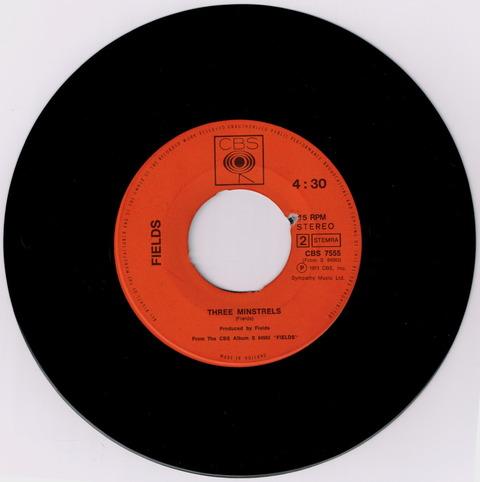 FIELDS - A FRIEND OF MINE + THREE MINSTRELS (1971) b
