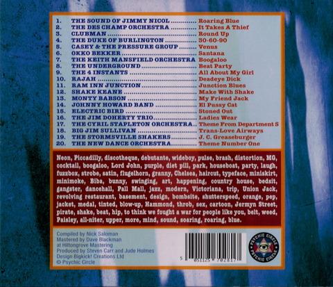 - roarig blue (2009) CD b