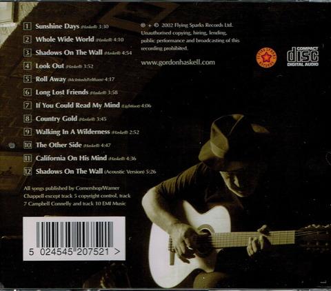 GORDON HASKELL - Shadows on the wall (2002) b