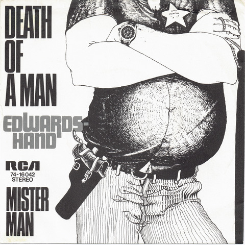 Edwards Hand - Death of man F