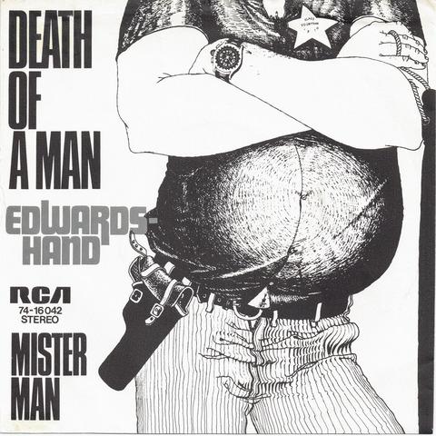 Edwards Hand - Death of man F