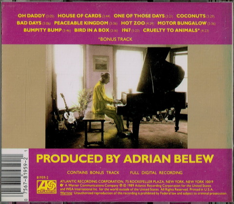 ADRIAN BELEW - MR MUSIC HEAD (1989) B