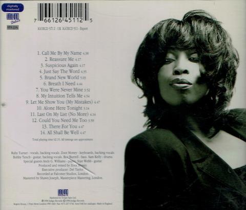 Ruby Turner - Call Me By My Name (1998) b BB