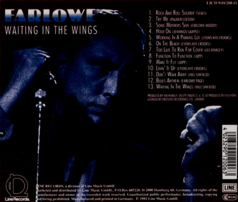 Chris Farlowe - Waiting In The Wings (1992)b