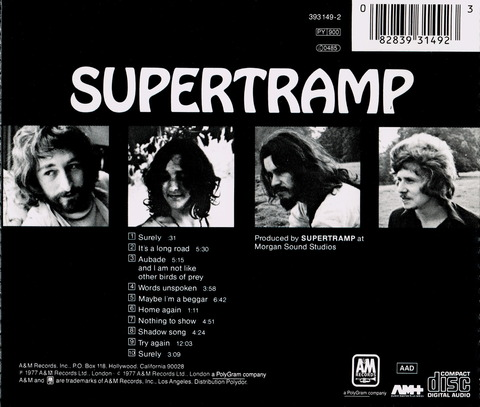 SUPERTRAMP (1970)B