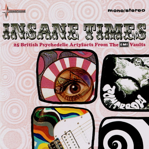 INSANE TIMES - 25 British Psychedelic (2007) f