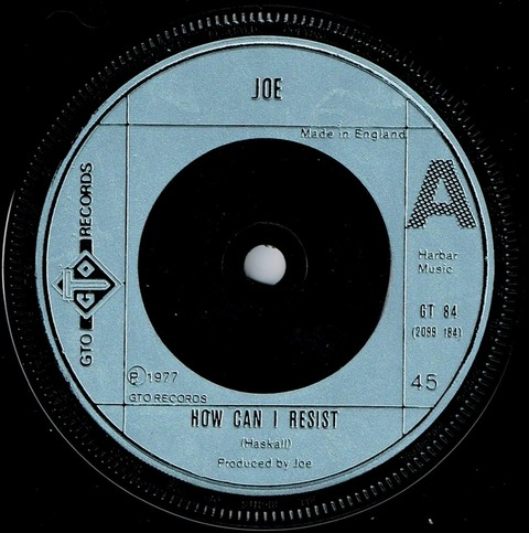Joe - How Can I Resist