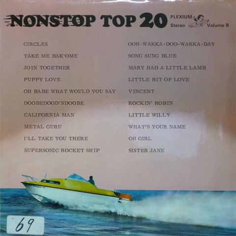 NONSTOP TOP 20 Volume 8 (Jun 1972) f