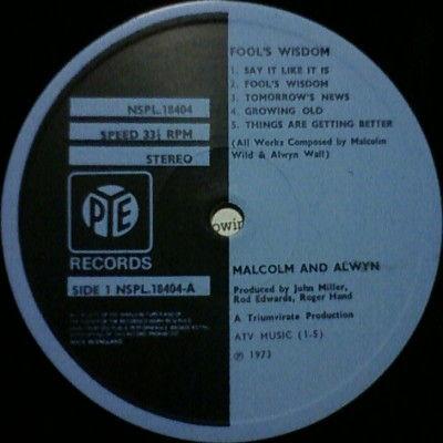 malcolm alwyn label