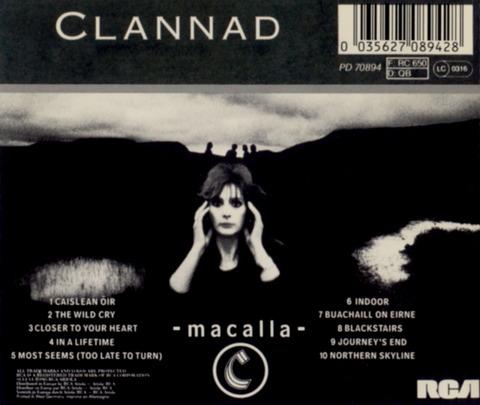 Clannad - Macalla (1985) b
