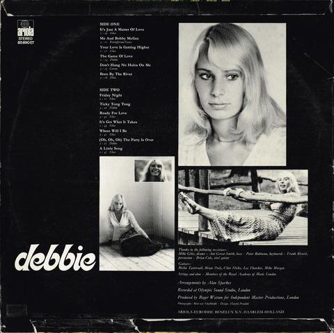 debbie - debbie (1972)B