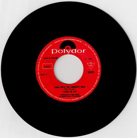 FLEUR DE LYS - GONE WITH THE LUMINOUS NOSE (1968)