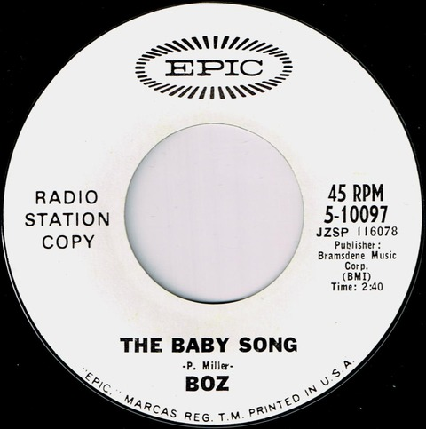 Boz - The Baby Song