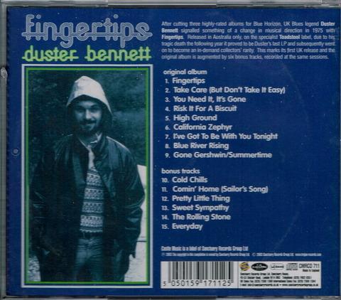 duster bennett - Fingertips b