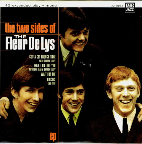 the two side of The Fleur De Lys