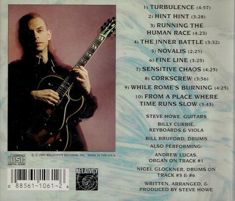 STEVE HOWE - TURBULENCE (1991) B