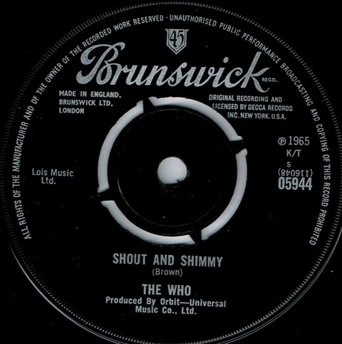 The Who - Shout and Shimmy