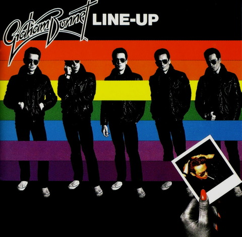 Graham Bonnet - LINE UP (1981) Reissue CD (1994) f