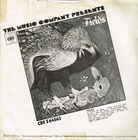 FIELDS - A FRIEND OF MINE + THREE MINSTRELS (1971) psB