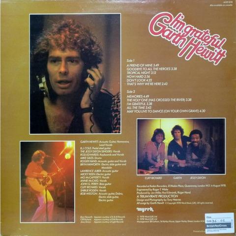Garth Hewitt - I'm grateful (1978) b