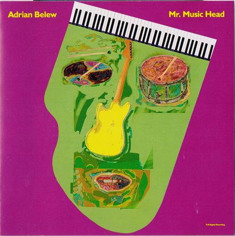 ADRIAN BELEW - MR MUSIC HEAD (1989)
