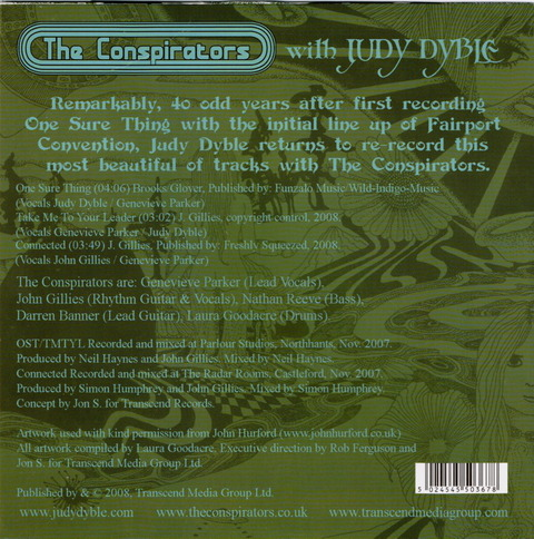 The Conspirators with JUDY DYBLE - One Sure Thing(2008) psb