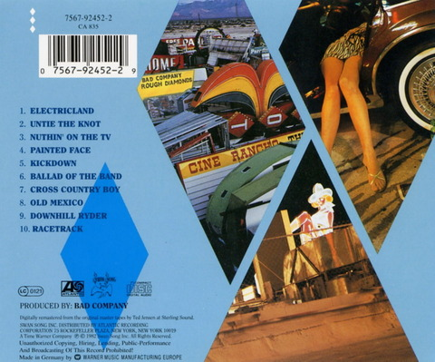 Bad Company - Rough Diamonds (1982), CD (1994) b