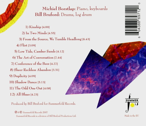 bill Bruford & michiel Borstlap - IN TWO MINDS (2007) b