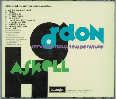 Gordon Haskell - Serve at room temperature b